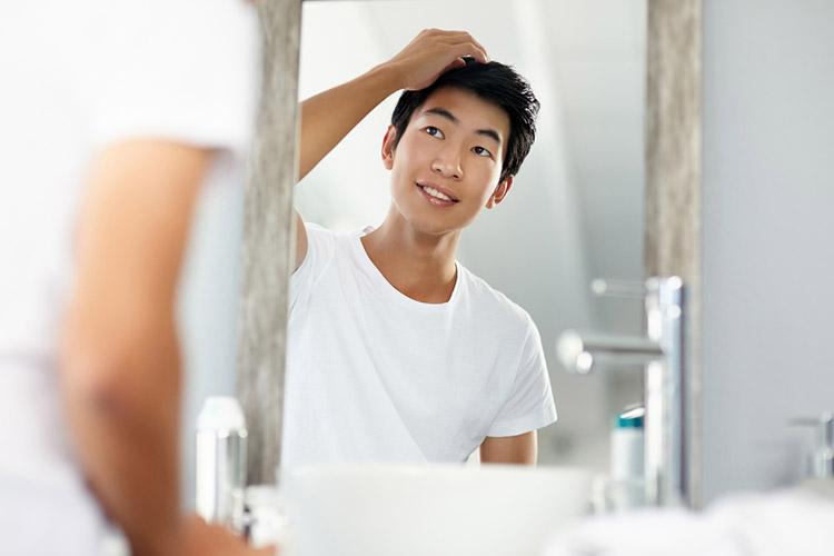 薄毛の対策