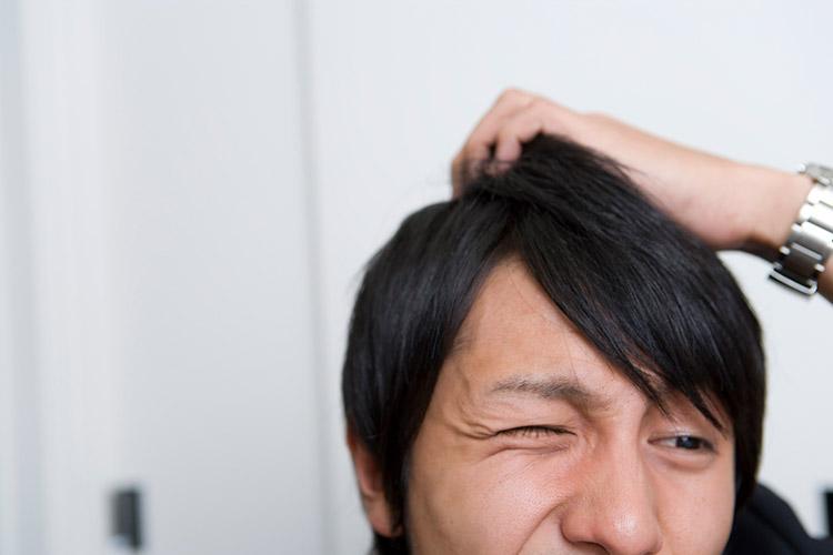 頭皮のかゆみ